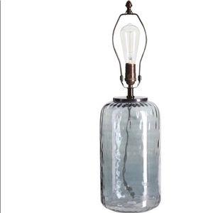 PB Small Alana Glass Cylinder Table Lamp Base